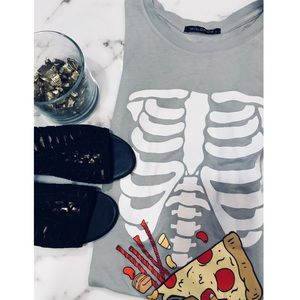 "Wildfox ""still skinny"" Chic Tee"